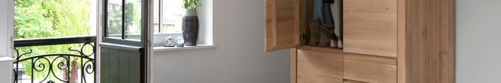 Eco houten kasten