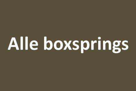 Alle boxsprings