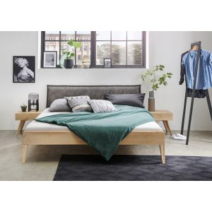 Massief eiken bed Firenze