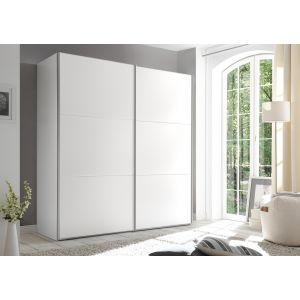 Includo - 2 deurs schuifdeur kledingkast - compleet met interieur