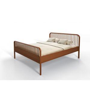 Geolied houten bed Luca van Luna Design