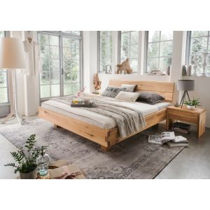 Massief eiken bed Australis