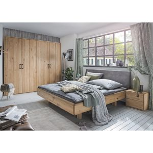 Massief eiken bed Woodstock