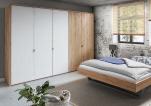Massief houten draaideur kledingkast Leaf- 5 deurs - 3 units