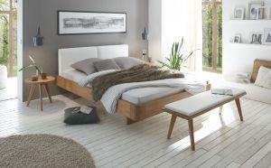 Oak-Bianco Massief eiken bed Modul 18 / Airo / Cemoa
