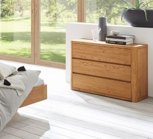 Oak-Line - 3 Laden commode - Massief eiken - Aida