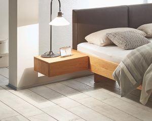 Oak-Line - 1 Laden nachtkastje - Massief eiken - Caja