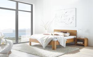 Oak-line Massief eiken bed Modul 18 / Lisio / Ronda
