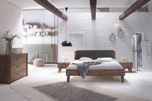 Factory-Line - Acaciahout - Bed Loft 18 / Gola / Varus