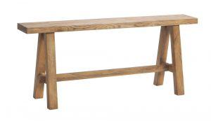 Oak-Vintage - Bedbank -Massief eiken - Vecio