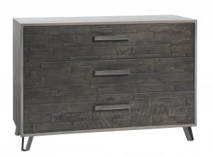 Factory-Line - 3 Laden commode - Acaciahout - Chest