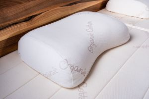 Auraletto Organic latex hoofdkussen Orthopedic SOFT