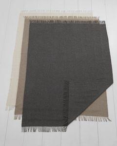 Parijs Plaid -  50% alpaca wol en 50% merinowol
