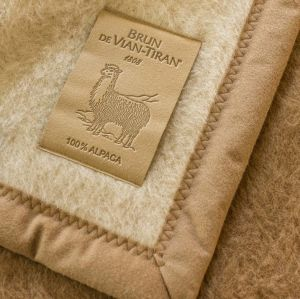 Alpaca deken - 100% Alpaca - All-seasons deken, gemiddeld isolerend
