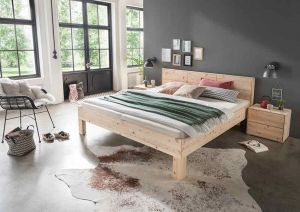 Massief alpenden houten bed Mercury F