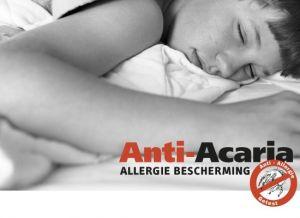 Anti-Acaria allergie bescherming dekbedovertrek