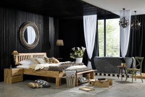 Avantgarde - Massief eiken of Beukenhouten bed