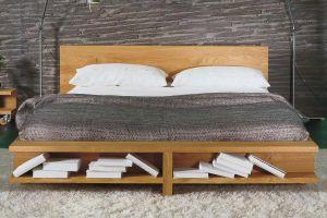 Bed Libro - massief geolied eikenhout