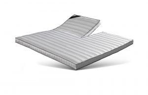 Topmatras 12cm Pocket + Active Air NATURE, uitgevoerd met zijde en viscose, anti-allergisch 890/895