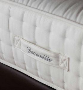 Deauville - 9-Slags Pocketvering matras met latex en wol - verlaagde schouderzone