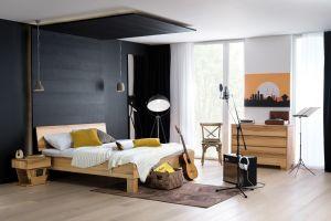 Cloud - Massief houten bed in eiken of beuken
