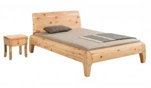 Massief alpenden houten bed Gonda