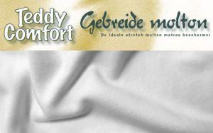 Teddy Comfort Gebreide Molton - Topper hoeslaken