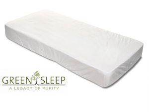 Green Sleep Organic katoen hoeslaken, topperhoeslaken of split-topperhoeslaken