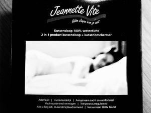 Jeannette Vite TENCEL® anti huismijt en waterdicht kussensloop