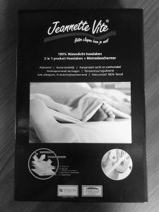 Jeannette Vite TENCEL® anti huismijt en waterdicht hoeslaken