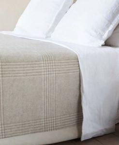 Kaschmir deken - 100% kasjmier - All-seasons deken, gemiddeld isolerend