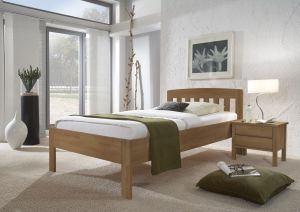 420 comfort - Massief beuken of wildeiken bed