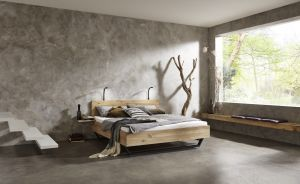 Woodnox massief eikenhouten bed - Mount