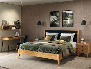 Lettowood serie - Eiken bed - Luxury