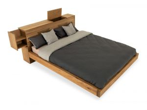 Lettowood serie - Eiken bed - Loyal Luxe
