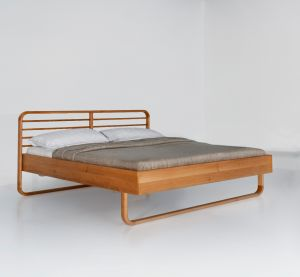 Lukas bed - Europees geolied eikenhout