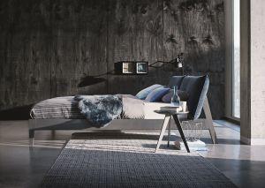 Design bed Alva - Eiken gebeitst