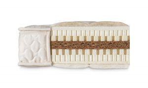 Natural ECO Kokos - 100% natuurlatex flexicuts  matras voor jongeren - kokos kern