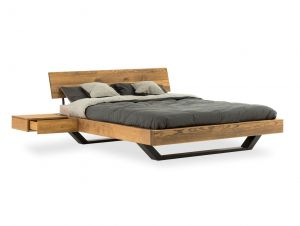 Lettowood serie - Eiken bed - Noble
