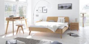 Oak-Bianco Massief Eiken bed Modul / Masito / Edda