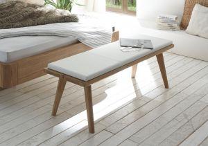 Oak-Bianco - Bedbank - Massief eiken - Sola