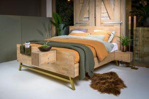 Massief houten bed Viggo