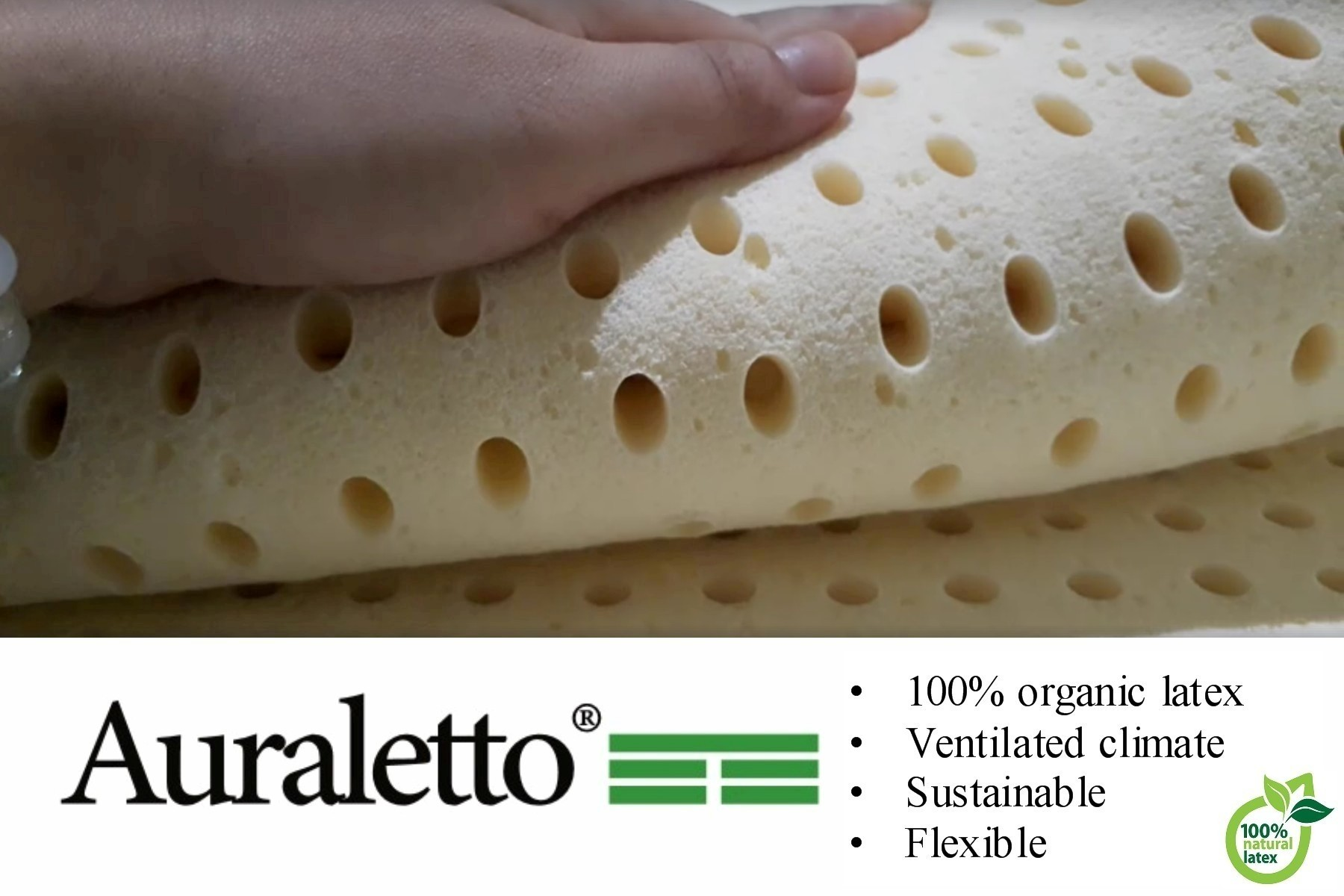 Auraletto - Kok Bedden merk natuurlatex matrassen