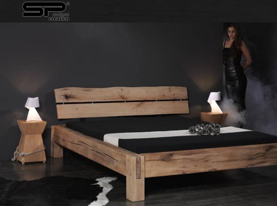 Grenen ledikant 2 persoons kasten - Houten bed ...