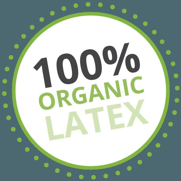 100% Organic Latex