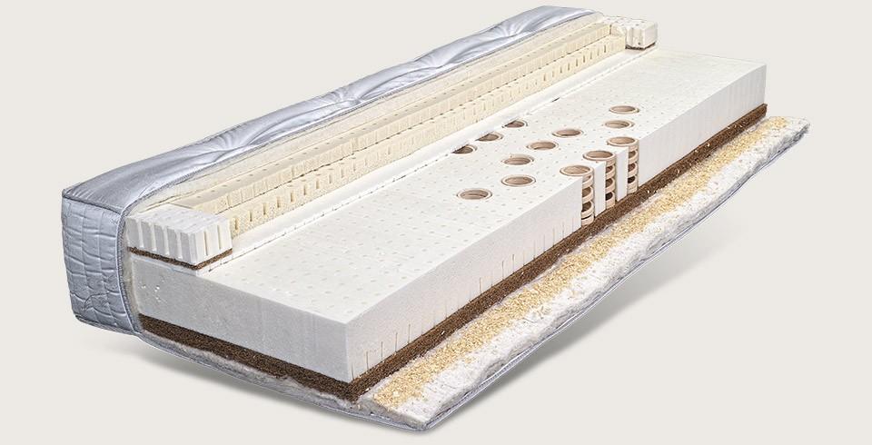 Vitalwood houten vering matras