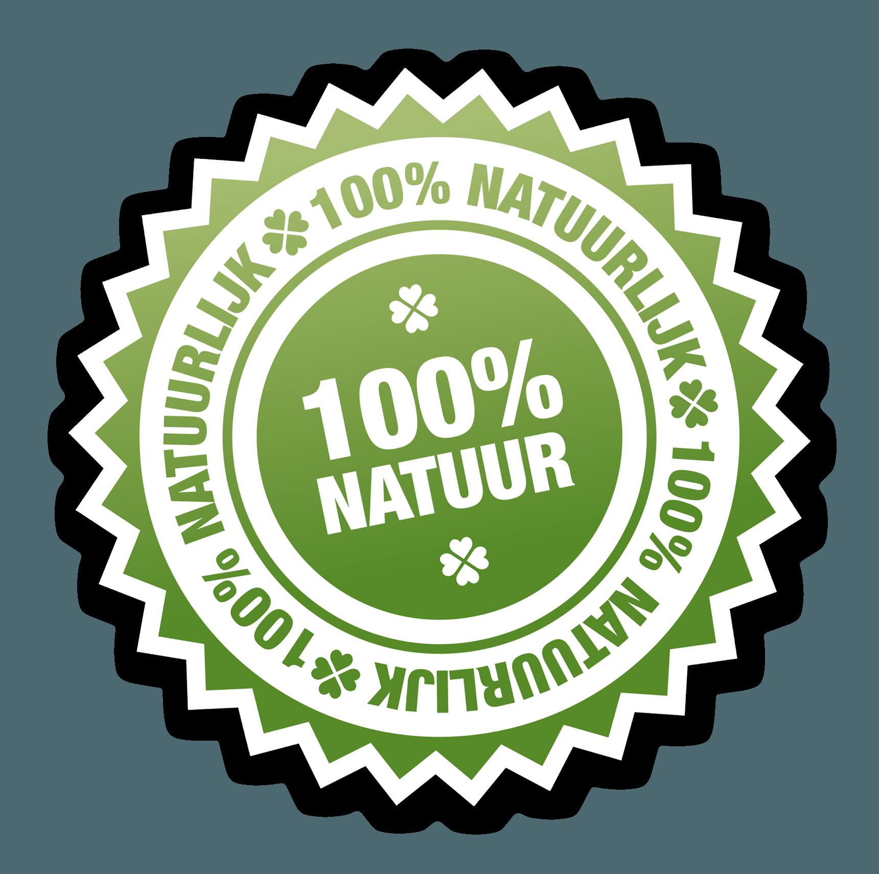 100% Natuurproduct