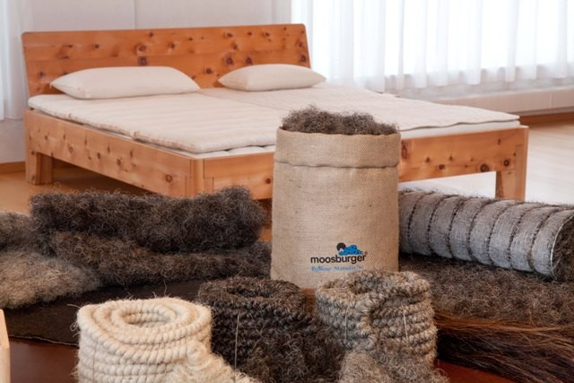 100% Natural Moosburger beds